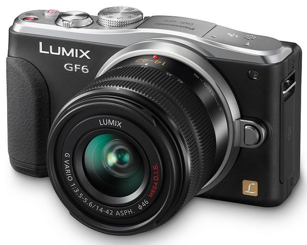 Panasonic LUMIX DMC-GF6 Micro Four Thirds Mirrorless Camera with WiFi and NFC