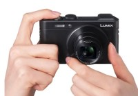 Panasonic LUMIX DMC-LF1 High-end Compact Camera on hand