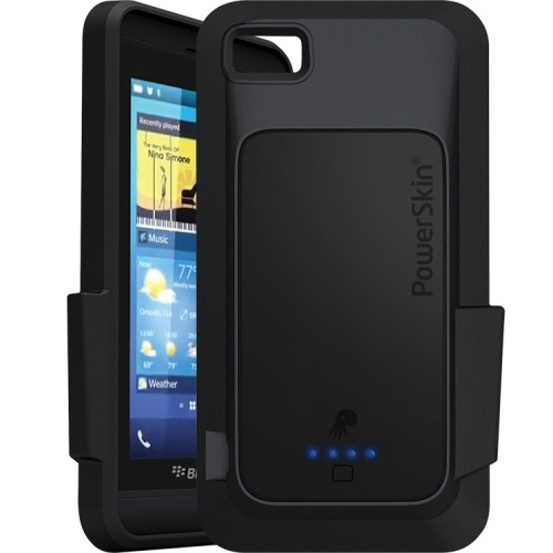 PowerSkin BC01BYB101-BK Battery Case for BlackBerry Z10 2