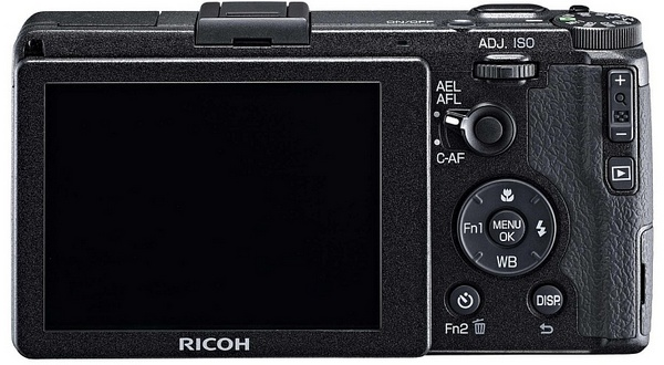 Ricoh GR Premium Compact Camera with APS-C Sensor back