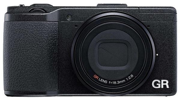 Ricoh GR Premium Compact Camera with APS-C Sensor front
