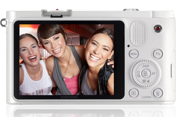 Samsung NX1100 Mirrorless Smart Camera back