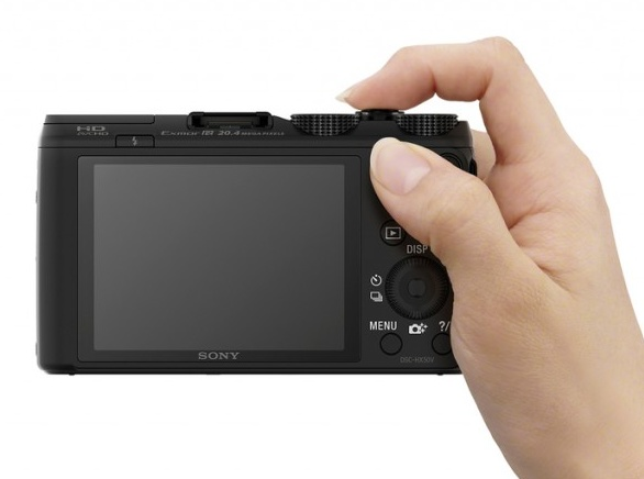 Sony Cyber-shot HX50V is the World's Smallest and Lightest 30x Zoom Camera on hand