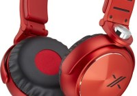 Sony X Headphone MDR-X05 red black