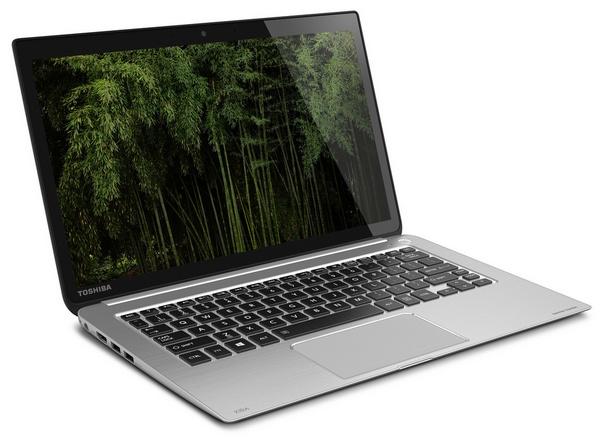 Toshiba KIRAbook Premium Ultrabook with 13.3-inch PixelPure left