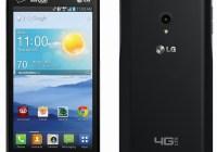 Verizon LG Lucid 2 android smartphone back