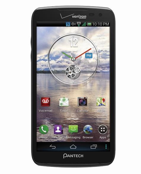 Verizon Pantech Perception Smartphone with Motion Sense front