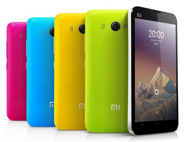Xiaomi Phone MI-2S Android Phone colors