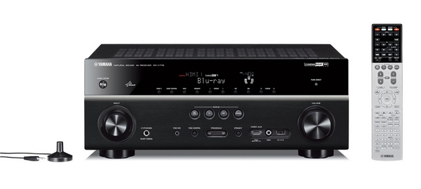 Yamaha RX-V775WA network av receiver with mhl airplay wifi