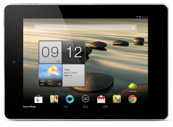 Acer Iconia A1 7.9-inch Tablet landscape