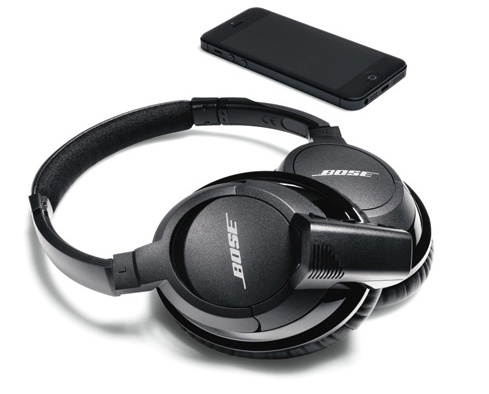 Bose AE2w Bluetooth Headphones iphone