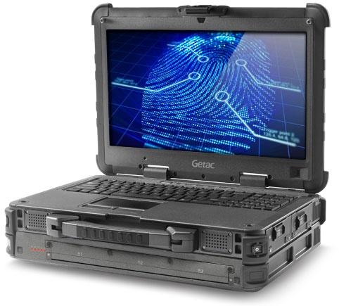 Getac X500 Server Rugged Mobile Server Notebook angle