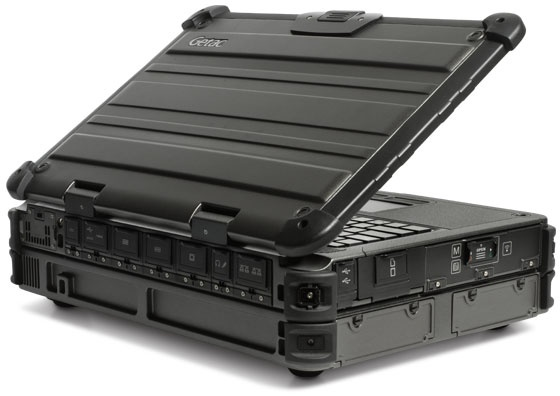Getac X500 Server Rugged Mobile Server Notebook back