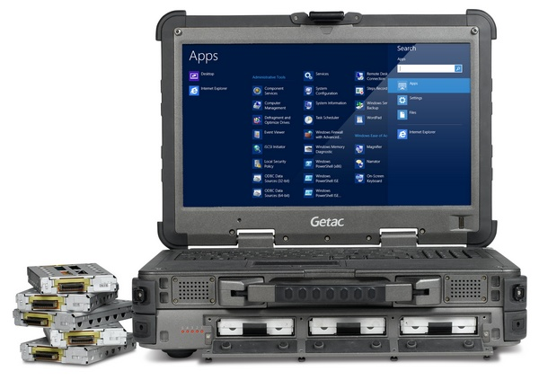Getac X500 Server Rugged Mobile Server Notebook