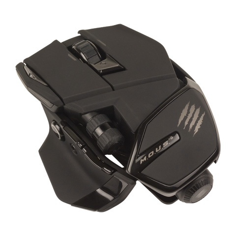 Mad Catz M.O.U.S.9 Wireless Mouse matte black