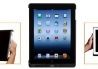 Precise Biometrics Tactivo Smart Card and Fingerprint Reader for iPad 4 in use