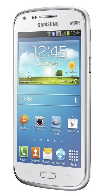 Samsung Galaxy Core Dual SIM Smartphone white