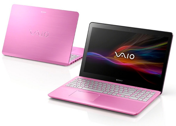 Sony VAIO Fit Notebook Steel Pink