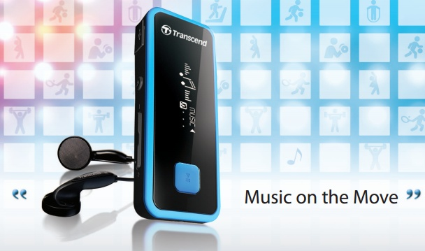 Transcend MP350 Waterproof Portable Music Player