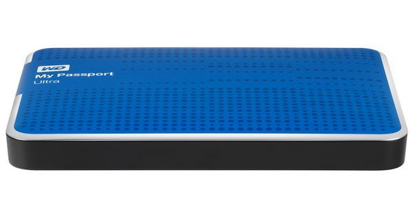 WD My Passport Ultra USB 3.0 Portable Hard Drive blue