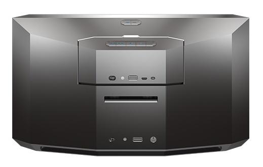 ZAGG Origin Two-in-One Speaker System back docked