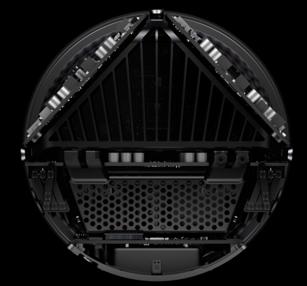 Apple's new Mac Pro gets cylindrical design thermal core