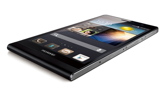 Huawei Ascend P6 ultra slim smartphone black 1