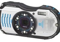Pentax WG-3 Rugged Camera with F2.0 Lens white