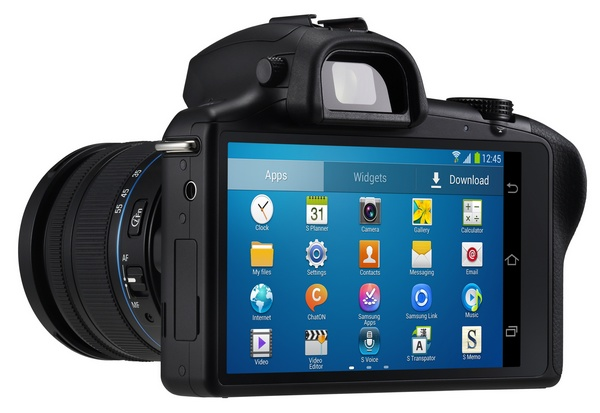 Samsung Galaxy NX Mirrorless Camera back