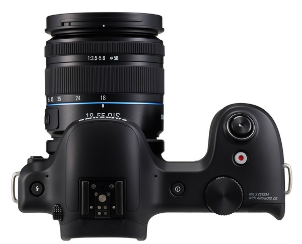Samsung Galaxy NX Mirrorless Camera top