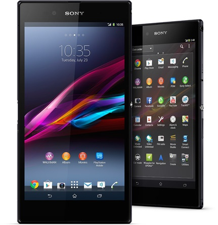 Sony Xperia Z Ultra 6.4-inch Full HD phablet front