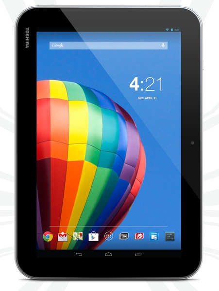 Toshiba Excite Pure 10.1-inch Android Tablet portrait