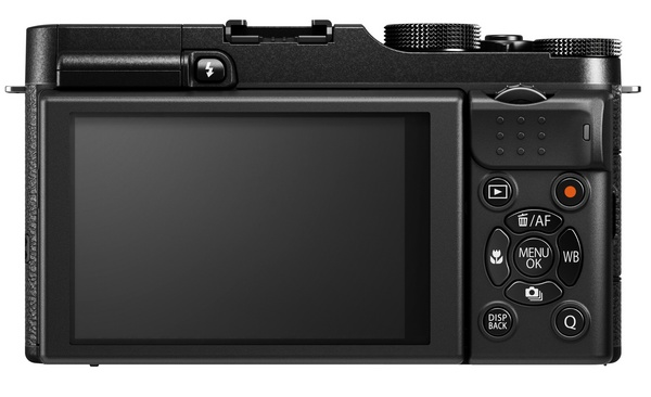 FujiFilm X-M1 Lightweight Mirrorless Camera back