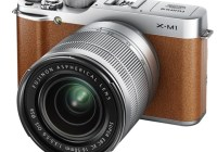 FujiFilm X-M1 Lightweight Mirrorless Camera brown