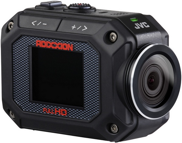 JVC ADIXXION GC-XA2 Quad-proof Action Camera angle