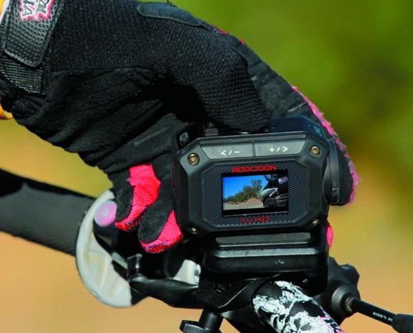 JVC ADIXXION GC-XA2 Quad-proof Action Camera bike 1
