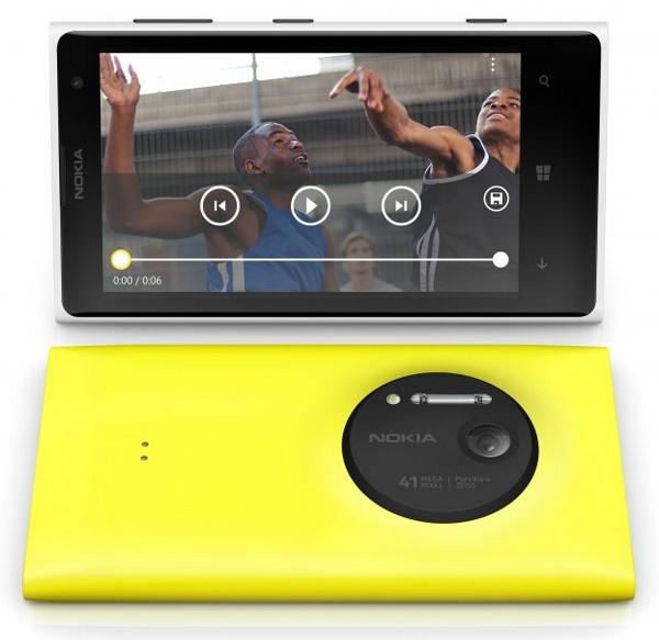 Nokia Lumia 1020 Smartphone front back