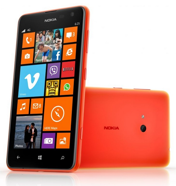 Nokia Lumia 625 Affordable LTE WP8 Smartphone orange
