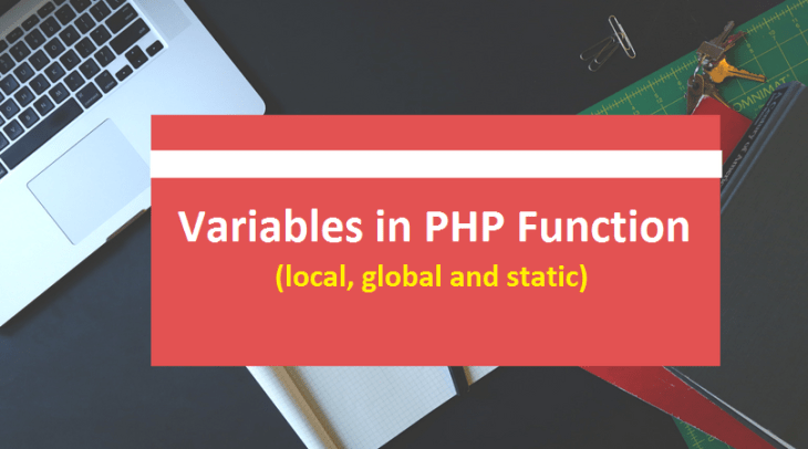 Variables in PHP Function