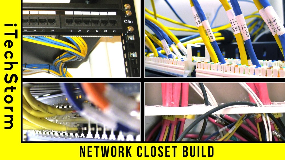 medium resolution of wiring a network rack