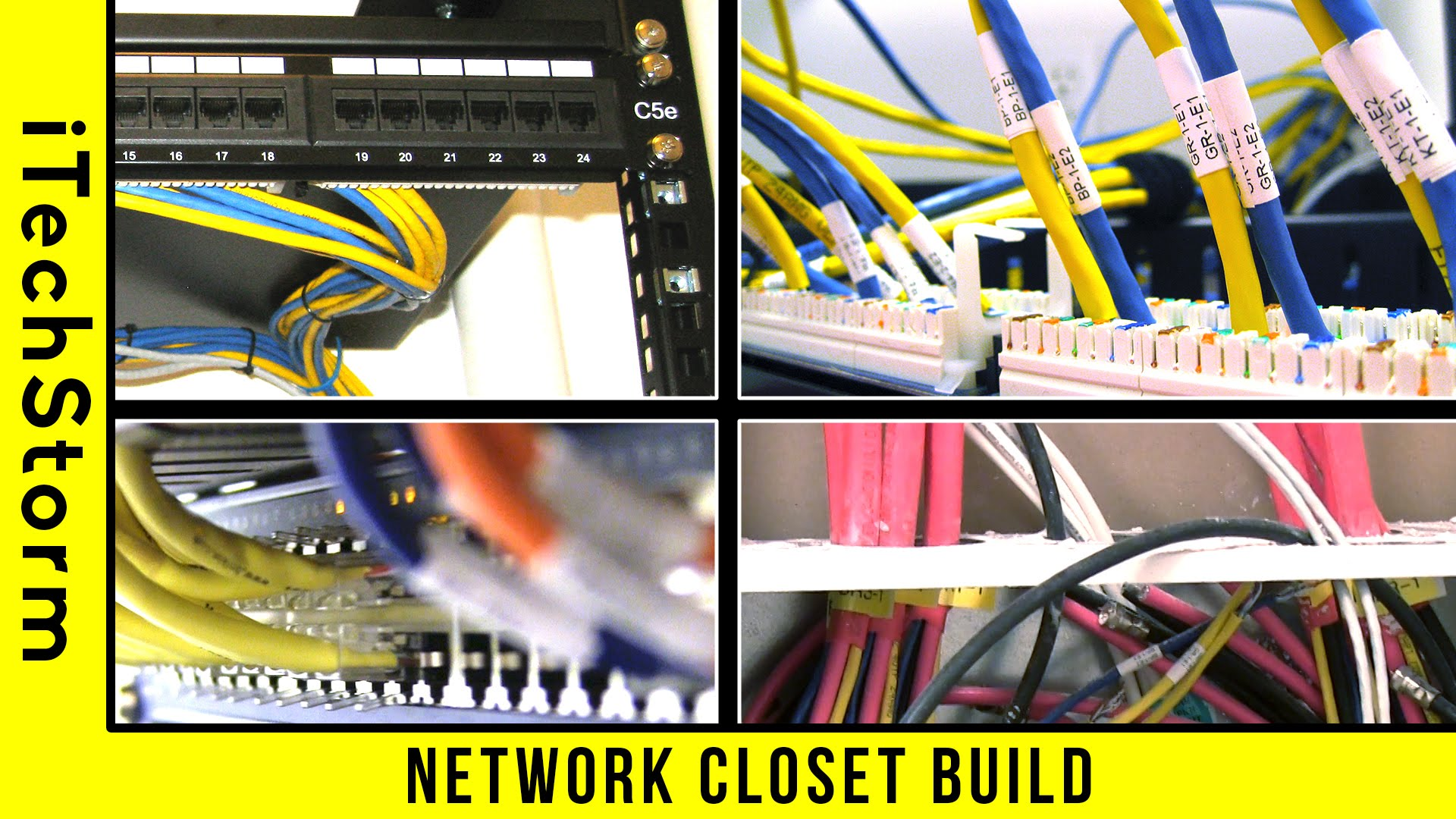 hight resolution of wiring a network rack