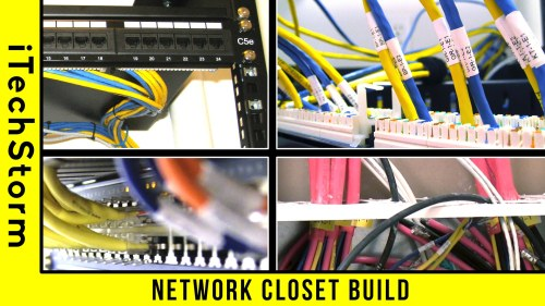 small resolution of wiring a network rack