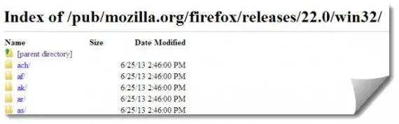 Firefox offline installer ftp