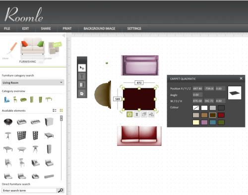Roomle Home Designing Software
