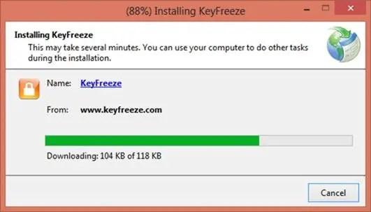 Installing KeyFreeze