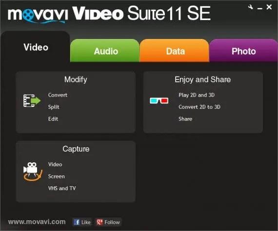 Movavi Video Suite 11 SE