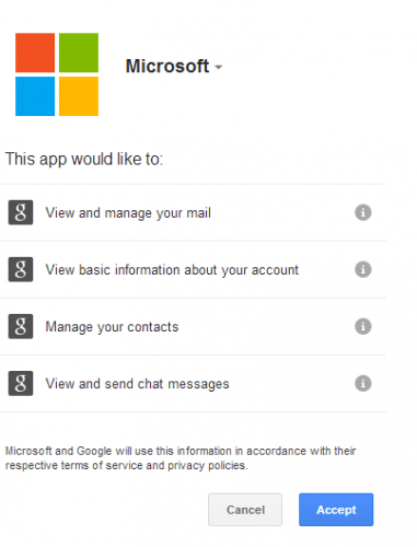 how to add gmail account to outlook