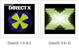 DirectX logos