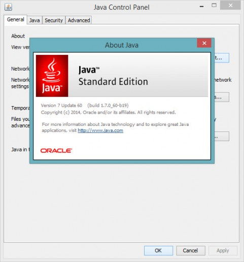 About Java installation version
