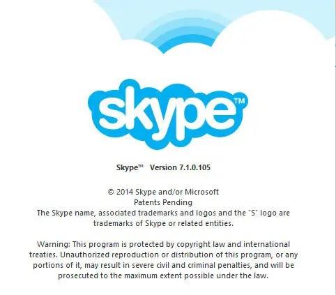 Skype 7.1.105